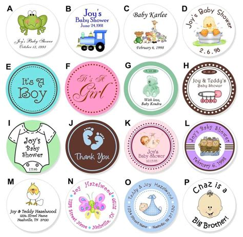 baby food jar labels for a baby shower love baby