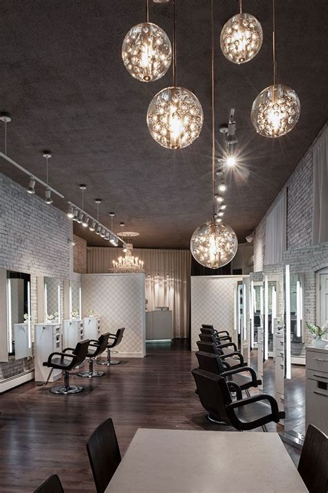 hair salon decorating ideas dream house experience create an elegant statement with a white brick wall