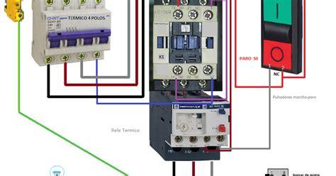 un contactor a botoneras esquemas el ctricos apexwallpaperscom c 243 mo conectar un contactor a botoneras y rel 233 t 233 rmico