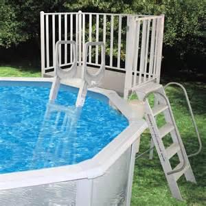 swimming pool discountersfree standing aluminum decks from