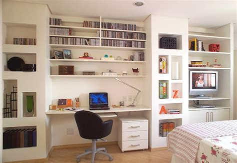 Small Home Office For Two 2 Em 1 Quarto E Escrit 243 Inspira 231 227 O Da Casa