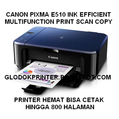 Dan Spesifikasi Printer Canon All In One canon pixma e510 all in one harga jual dan spesifikasi glodok printer