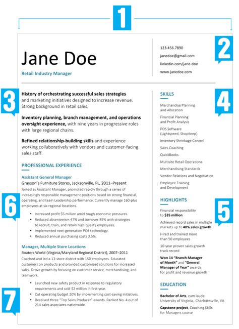 Big W Resume by What Your Resume Should Look Like In 2017 Money