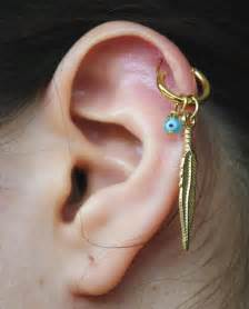 ear earings cartilage earring on