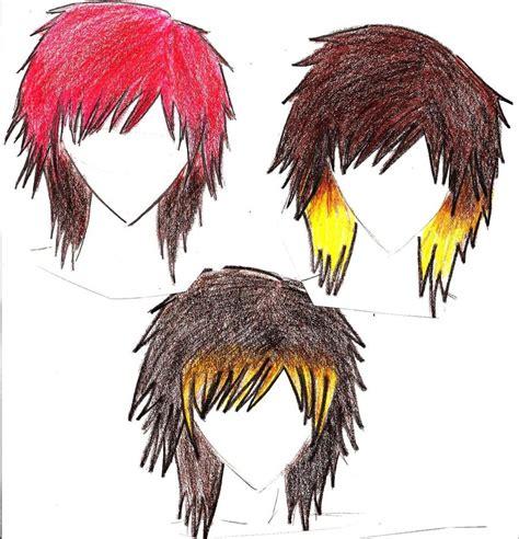 emo anime hairstyles emo hair by kikiyou chan on deviantart