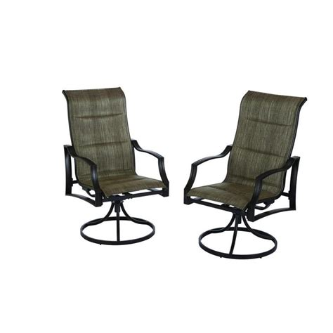 furniture sling swivel rocker patio chairs home for you