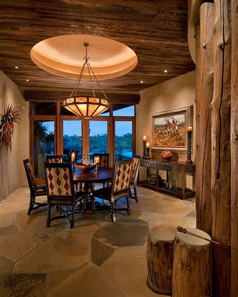 traditional southwest territorial southwestern dining