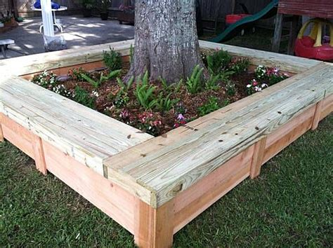 diy tree bench tree bench ideas for added outdoor seating