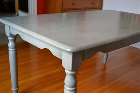 refinishing our quot plain quot dining table lansdowne