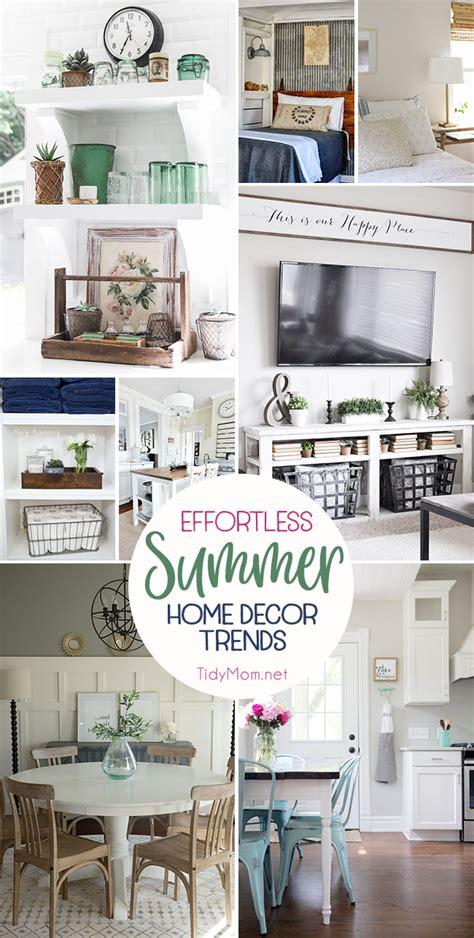 home decor trends blog effortless summer decor home trends tidymom 174
