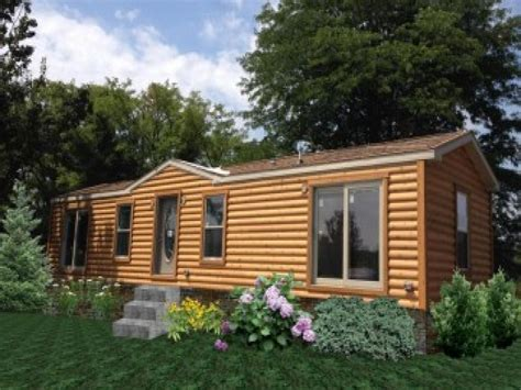 movil homes log cabin modular house plans