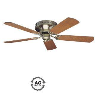 contemporary flush mount ceiling fans craftmade pfc52ab antique brass custom blade options 5