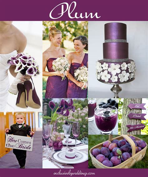plum wedding colors your wedding color don t overlook five shades