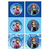 Frozen Free Printable Cupcake Toppers And Wrappers Car Tuning