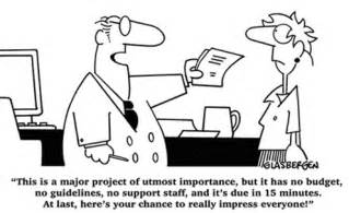 it s funny cause it could happen to any project manager