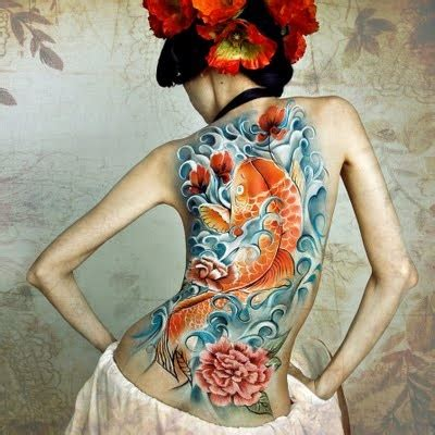 koi tattoo without water 20 spectacular koi tattoos and koi fish meaningsdesign of