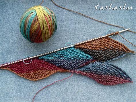 knitting pattern ravelry autumn leaves stitch pattern pattern by svetlana gordon