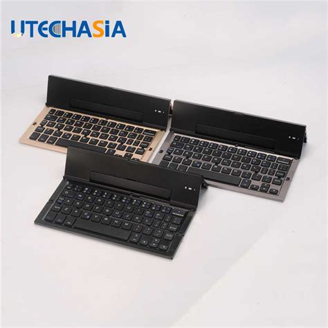 iphone keyboard for android qwerty mini keyboard 3 0 folding foldable bluetooth keyboards for apple iphone pro macbook