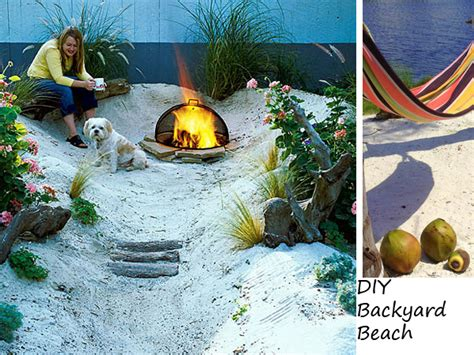 backyard beach ideas transforming backyard into beach strip outdoortheme com