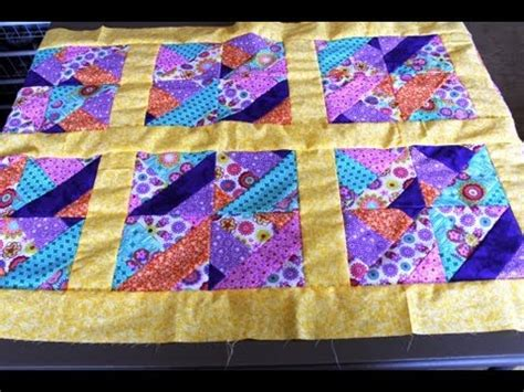 How To Make Quilt Borders by How To Sew Quilt Squares Borders Jelly Roll Quilt