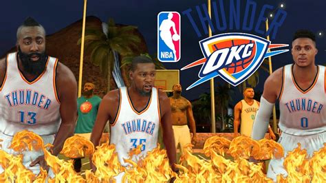 Could Kevin Reunite by Nba 2k17 My Park What If Kevin Durant Westbrook