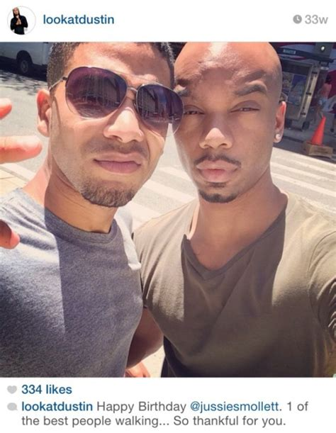 jamal from empire real life boyfriend is photos