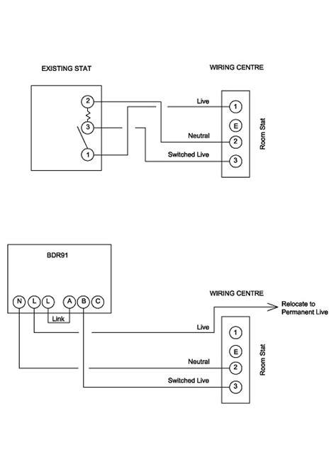 Honeywell BDR91 to Honeywell 42005748 Sundial Wiring
