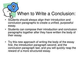 How Do You Write A Conclusion In An Essay by Ppt How To Write A Concluding Paragraph Powerpoint Presentation Id 245978