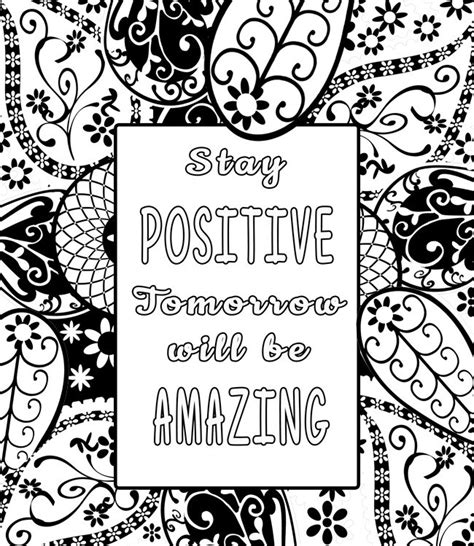 motivational coloring pages for adults coloring pages inspirational coloring pages for adults