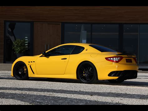 Novitec Tridente Custom Granturismo Based On Maserati