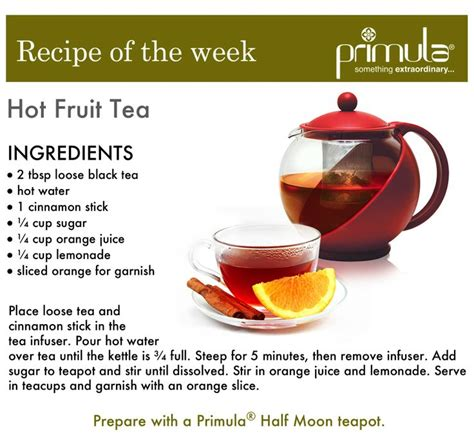 fruit tea recipe fruit tea recipe primulaproducts tea citrus