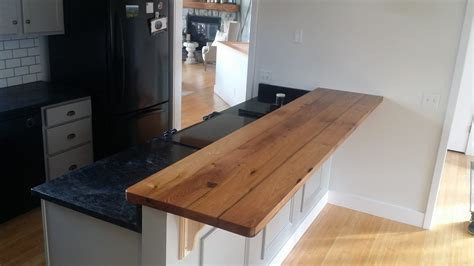 Countertops Maryland by Reclaimed Chestnut Kitchen Bar Top Maryland Wood Countertops