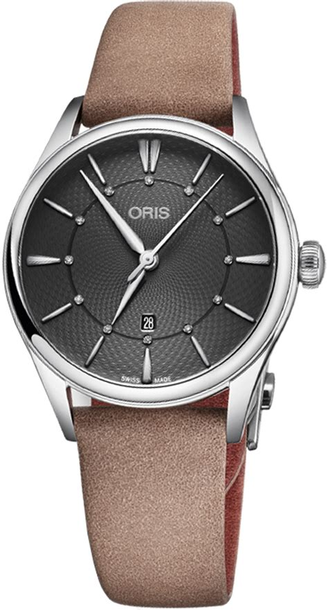oris watch for sale oris artelier date diamonds 56177244053ls for sale