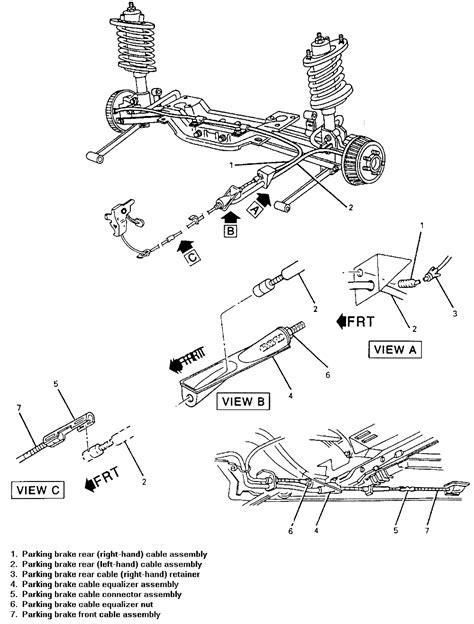 | Repair Guides | Parking Brake | Cables | AutoZone.com