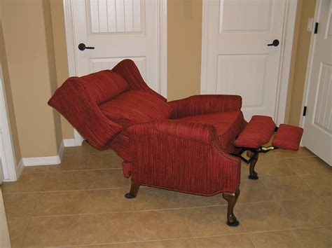 how to make a recliner chair wingback recliners mak designs