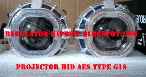 Projector Aes Eye Lensa Ultimate rk motor lu projector hid lu led cree