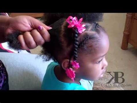 9 year old little girl hair braided witb weave cute girls hairstyles natural hair ponytails youtube