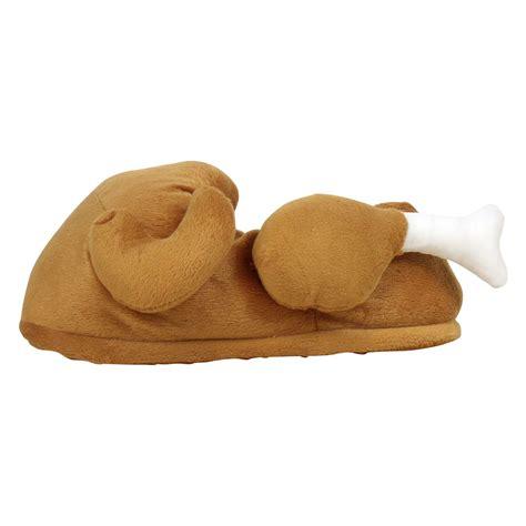 turkey slippers mens womens turkey bootee slipper winter