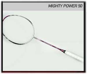 Raket Astec Mighty Power 51 astec racket quot mighty power quot series all player sport sarko