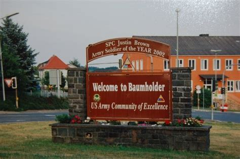 baumholder germany housing these are the mighty gates to baumholder germany the base was the highest base in