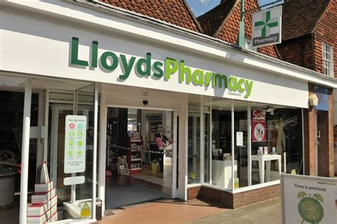 Lloyds Pharmacy by Lloyds Pharmacy In Haslemere High Targeted By