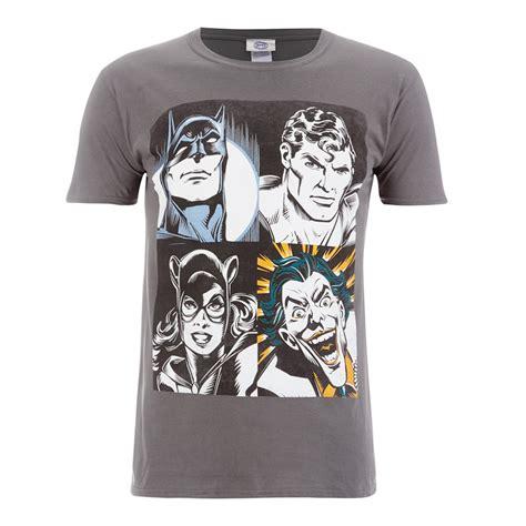 Tshirt Dc Amn Clothing dc comics s batman t shirt grey merchandise zavvi