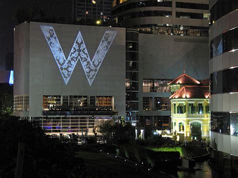 w inn w hotels opens its hotel in bangkok