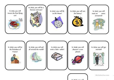 template for fortune teller card fortune teller cards worksheet free esl printable