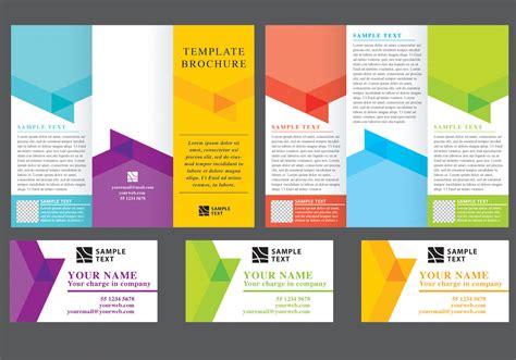 brochure template vector chevron fold brochure vectors free vector