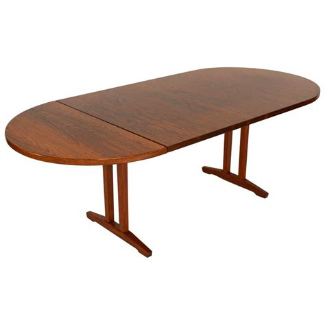 Oval Drop Leaf Table Fristho Rosewood Oval Drop Leaf Dining Table Netherlands 1960s For Sale At 1stdibs