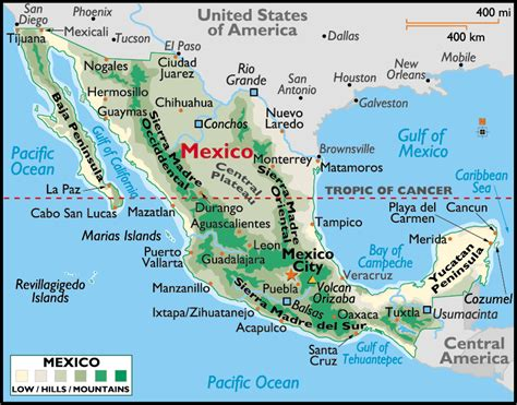 map of the mexico october 2011 map of mexico regional political geography