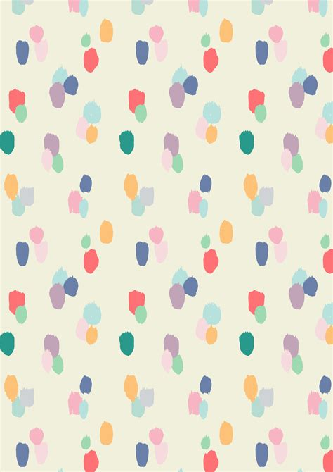 pattern background color painted dots pattern a w15 rice dk by studio sjoesjoe