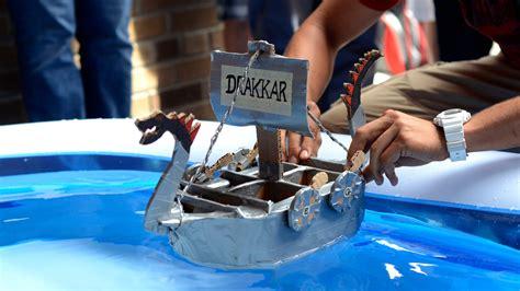 cardboard boat competition university of waterloo civil engineering cardboard boat