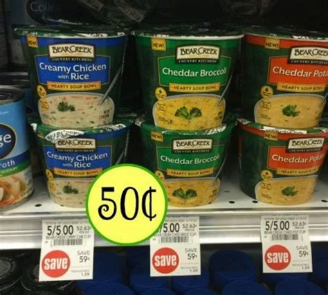 country kitchen coupon 1 2 creek soup coupon 0 50 at publix